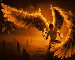 wallpapers fire angel animated screensaver version beautiful