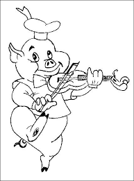 coloring pages 3 pigs picture 3