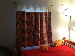 Unisex Nursery Curtains by Kids Blackout Curtains Kids Blackout Curtains 66in X 54in Red At