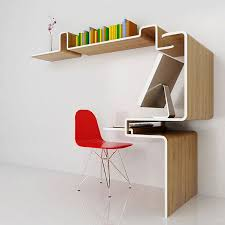 Ideas For Bookshelves by Furniture Outstanding Wall Bookshelf Design With Red Study Chair