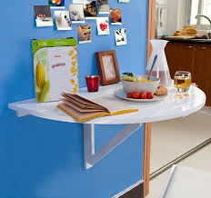 table cuisine demi lune fold away wooden wall table fwt10 fwt11 for children semi circular