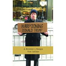 Trump Gold Curtains by Harpooning Donald Trump By Tom Leclair