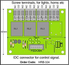 horn relay board 4qd electric motor control