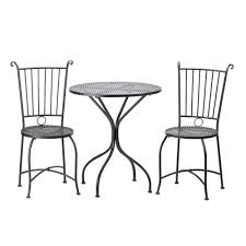 Wrought Iron Cafe Set by Patio Astounding Cheap Bistro Set Outdoor Bistro Set Clearance