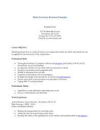 resume example for a legal secretary