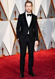 80s prom men gosling rocks 80s prom tux at the oscars goes without