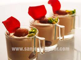 gulab jamun mousse vegetarian recipe foodfood sanjeev kapoor