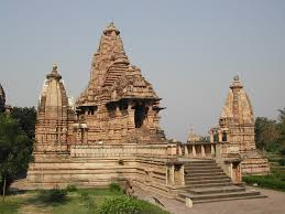 Decoration Of Temple In Home Sacred Space And Symbolic Form At Lakshmana Temple Khajuraho