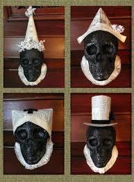 Dollar Tree Halloween Decorations Dollar Store Crafts Make Boutique Halloween Skull Decorations