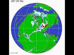 continental drift animation centred uk