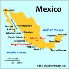 zihuatanejo map cruiseportinsider com ixtapa zihuatanejo basics