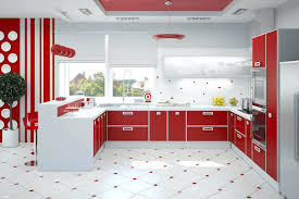 7 Black And White Kitchen by Kitchen Cabinets Off White Kitchen Cabinets With Red Walls