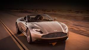 aston martin truck interior aston martin debuts its new db11 volante convertible fortune