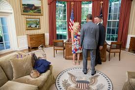 trump oval office redecoration donald trump has been in the oval office five minutes and he s