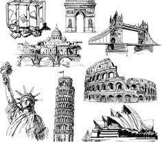 city drawing google u0027da ara city pinterest city drawings