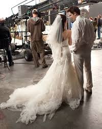 swan s wedding dress breaking wedding dress s nightmare wedding gown