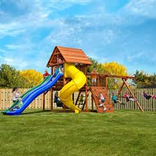 Backyard Playground Slides by Backyard Play Costco