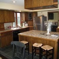 kitchen gorgeous kitchen design with dark oak kitchen cabinet and