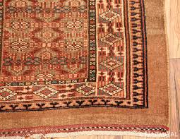 Corner Runner Rug Tribal And Narrow Antique Serab Runner Rug 49720 Nazmiyal