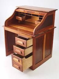 Oak Desk Organizer by Small Oak Roll Top Desk