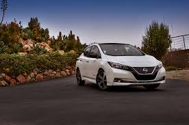 nissan leaf b mode 2018 nissan leaf first drive review motor trend