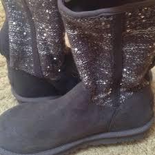 ugg womens lyla boots charcoal 31 ugg boots ugg boots sequin lyla