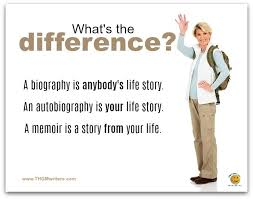biography an autobiography difference memoir and biography writers for hire thgm writing