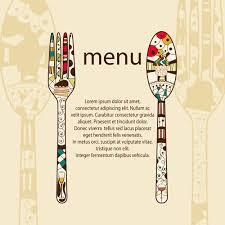restaurant menus design cover template vector 05 vector cover