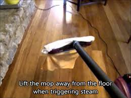 steam mopping wood floors a how to