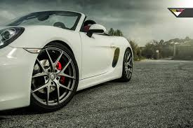 white porsche boxster porsche 981 cayman u0026 boxster gallery flow forged wheels u0026 custom