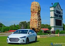 hyundai elantra test drive a journey home for peanuts in the 2017 hyundai elantra eco