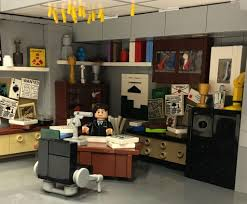 Lego Office by The X Files