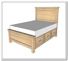 Building Platform Bed With Storage Drawers by Best 25 Full Bed With Storage Ideas Only On Pinterest Diy Full