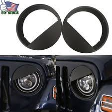 jeep light covers headlight light covers for jeep tj ebay