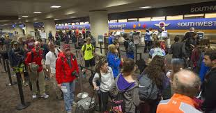 are airports busy on thanksgiving day sky harbor thanksgiving travel rush begins