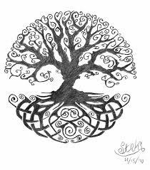 celtic oak tree ink oak tree and tatoo