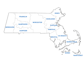 Massachusetts County Map by Letters To The Editor Elizabeth Warren For Senate