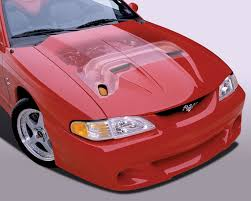 95 mustang hoods ram air kit 94 95 ram air cervini s