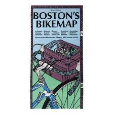 Boston Bike Map by Boston Ma Bike Routes Rubel Bike Maps 9781881559177 Amazon Com
