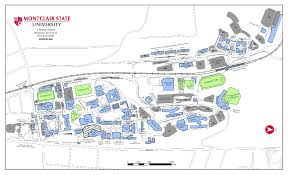 Clu Campus Map Montclair State University Map Construction Update For Week Of