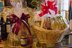 christmas food gift baskets gift baskets grove flowers