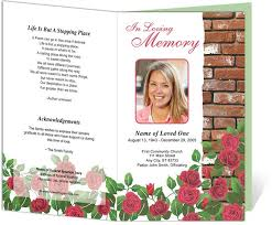 downloadable funeral program templates funeral program format funeral program template the best funeral