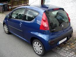 peugeot car models list file peugeot 107 heck jpg wikimedia commons