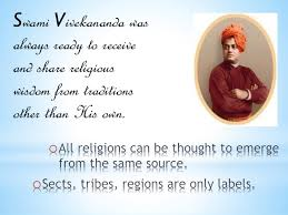 the meaning of religion according to swami vivekananda