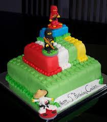 ninjago cake toppers cakes with ninjago theme cake with lego ninjago figures cake