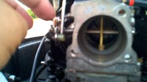 johnson 30 hp throttle adjustment youtube