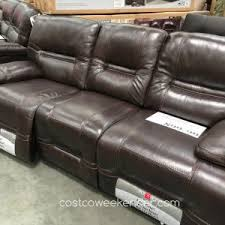 Leather Sectional Sofa Costco Furniture Power Recliner Leather Sofa Costco Things Mag Sofa