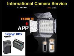 remote audio video lighting yongnuo yn300 iii 5500k led light end 12 17 2018 3 06 pm