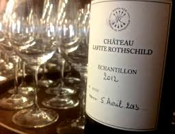 learn about chateau lafite rothschild wine words and videotape bordeaux primeurs 2012 château lafite