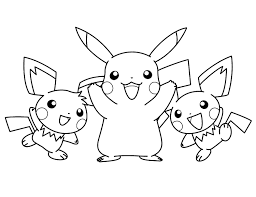 pokemon coloring pages images pikachu happy faces free coloring page kids pokemon coloring pages